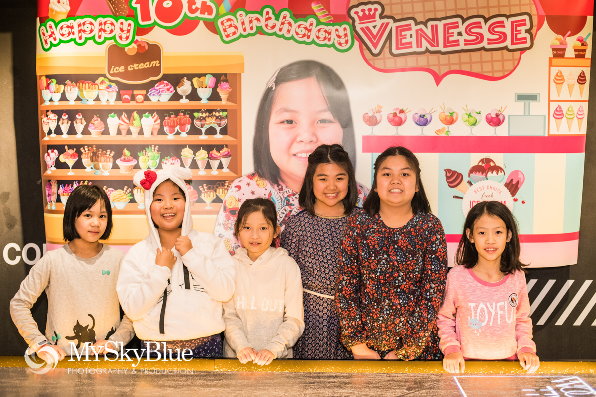 Child Party Birthday Photography HK
